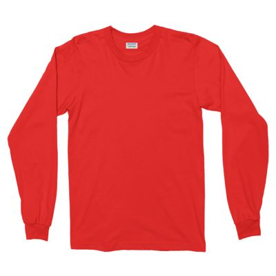 Cotton Softstyle Long Sleeve T-Shirt Thumbnail