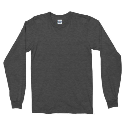 Mens 50/50 Cotton/Poly Long Sleeve T-Shirt Thumbnail